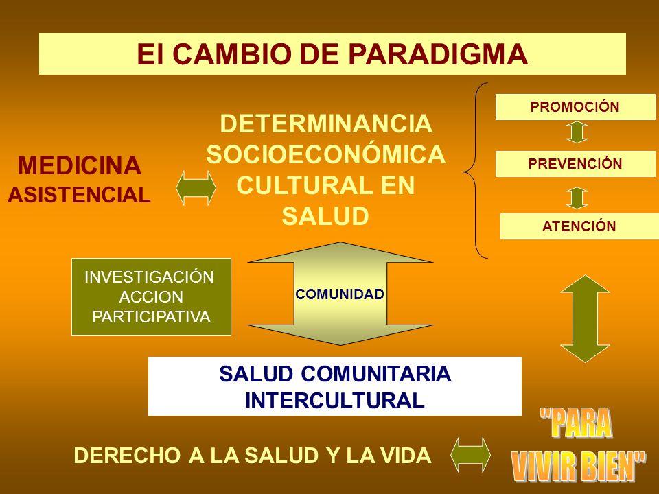 DETERMINANCIA SOCIOECONÓMICA CULTURAL EN SALUD
