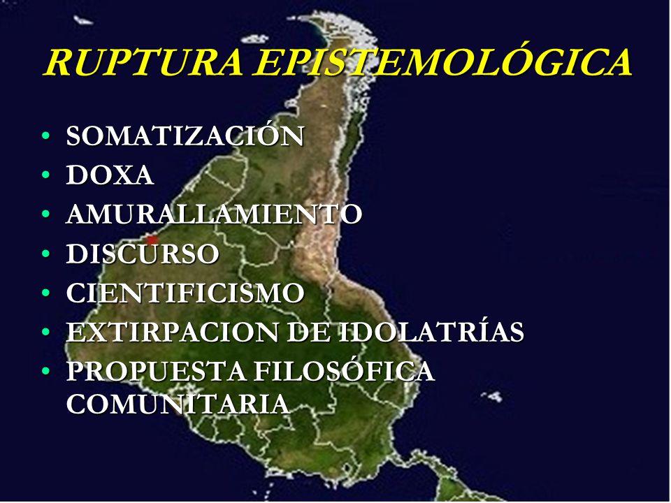 RUPTURA EPISTEMOLÓGICA