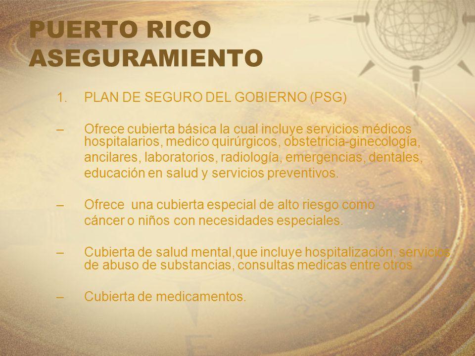 PUERTO RICO ASEGURAMIENTO