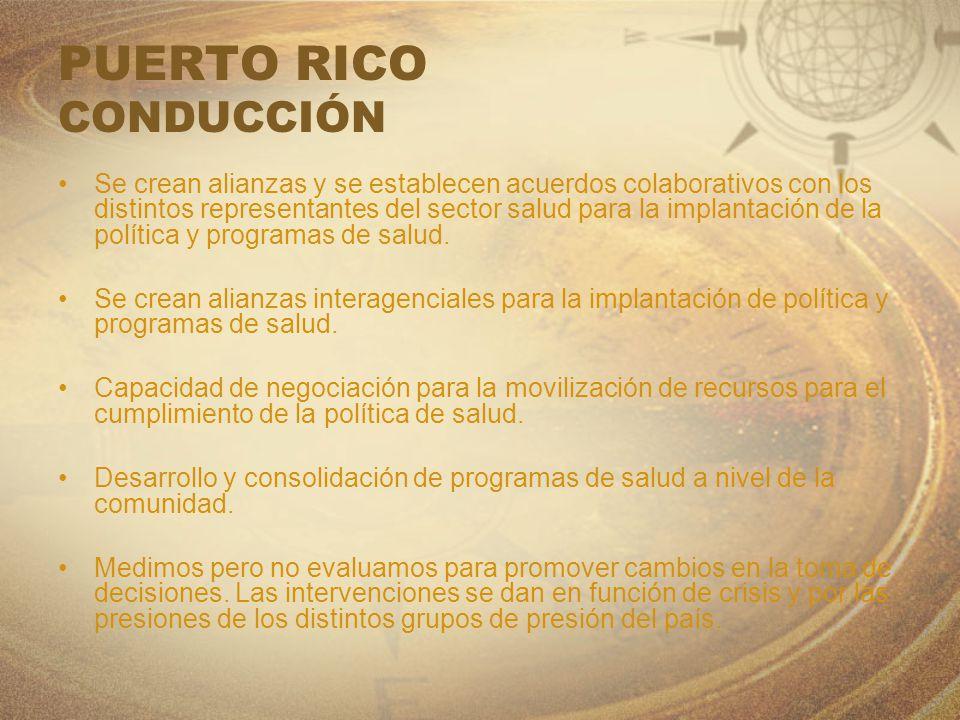 PUERTO RICO CONDUCCIÓN