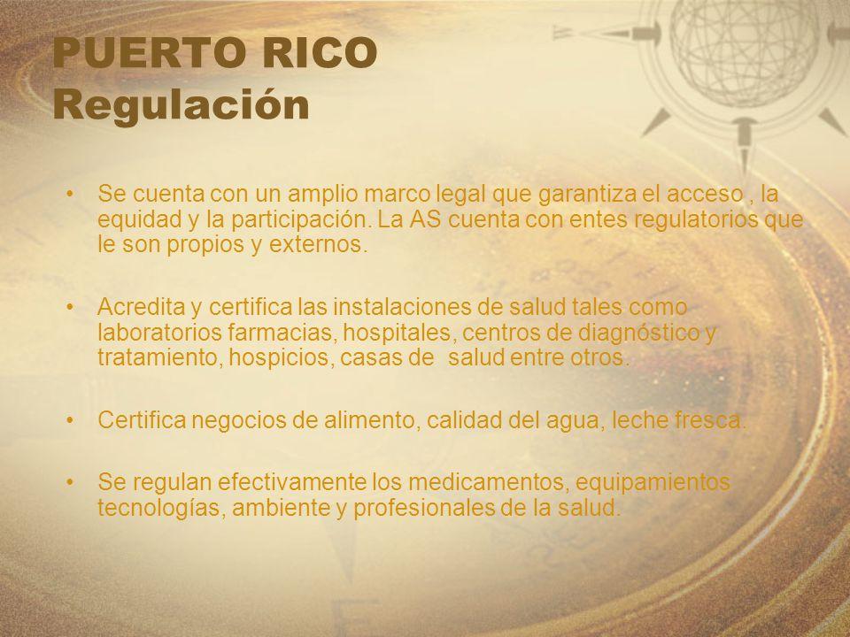 PUERTO RICO Regulación