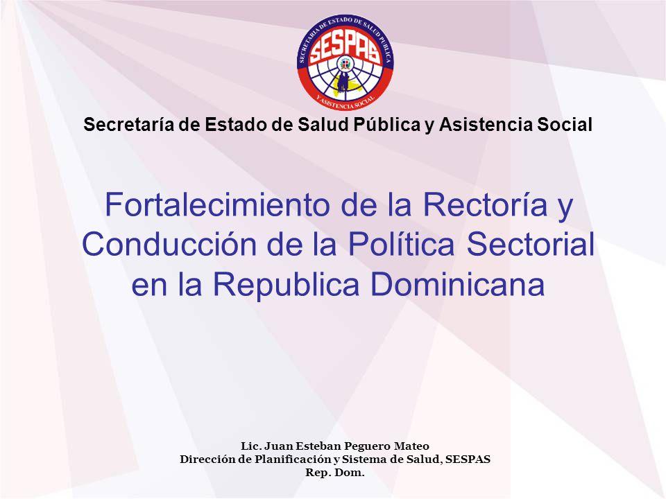 Secretaría de Estado de Salud Pública y Asistencia Social