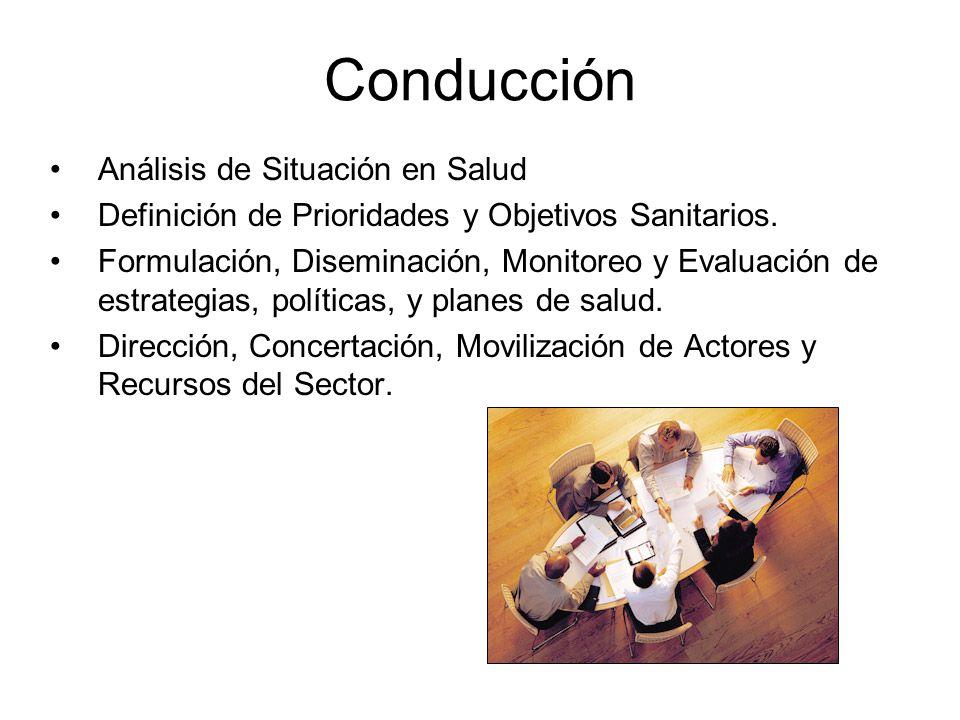 Conducción Análisis de Situación en Salud