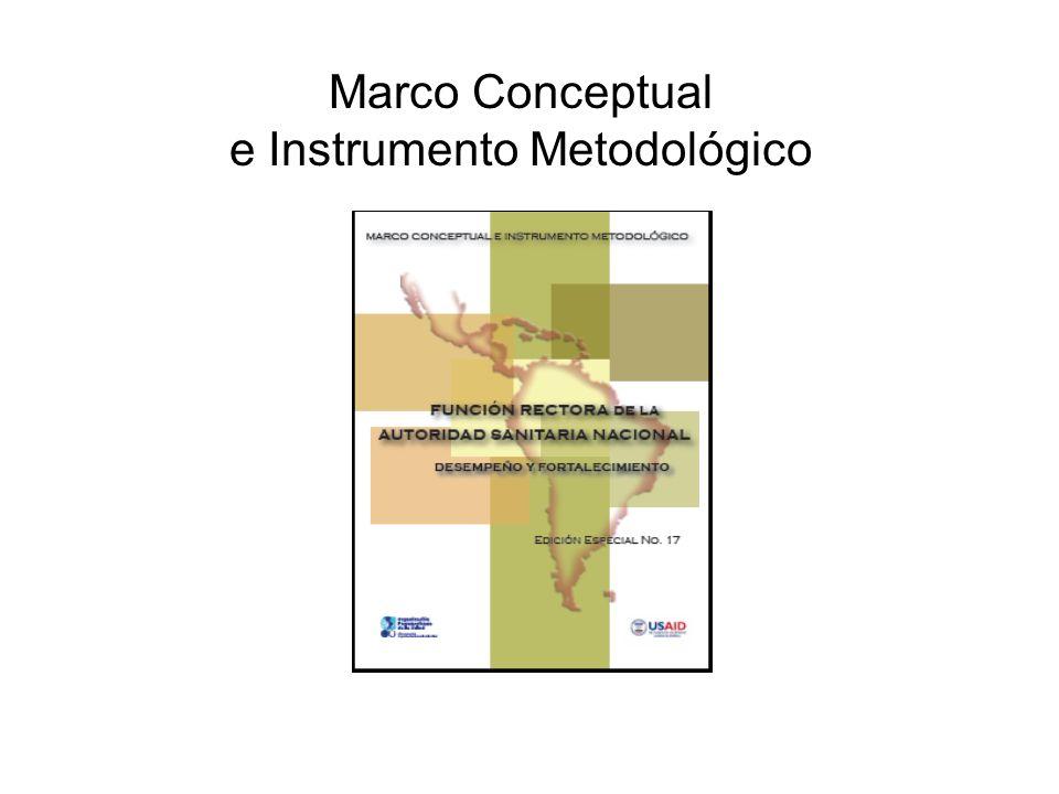 Marco Conceptual e Instrumento Metodológico