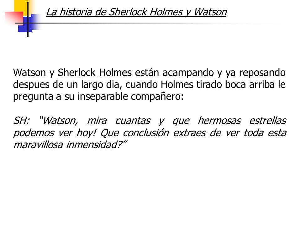 La historia de Sherlock Holmes y Watson
