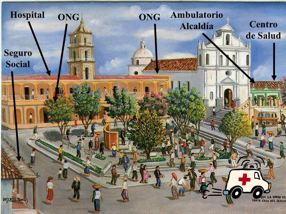 Hospital Ambulatorio Alcaldía ONG ONG Centro de Salud Seguro Social