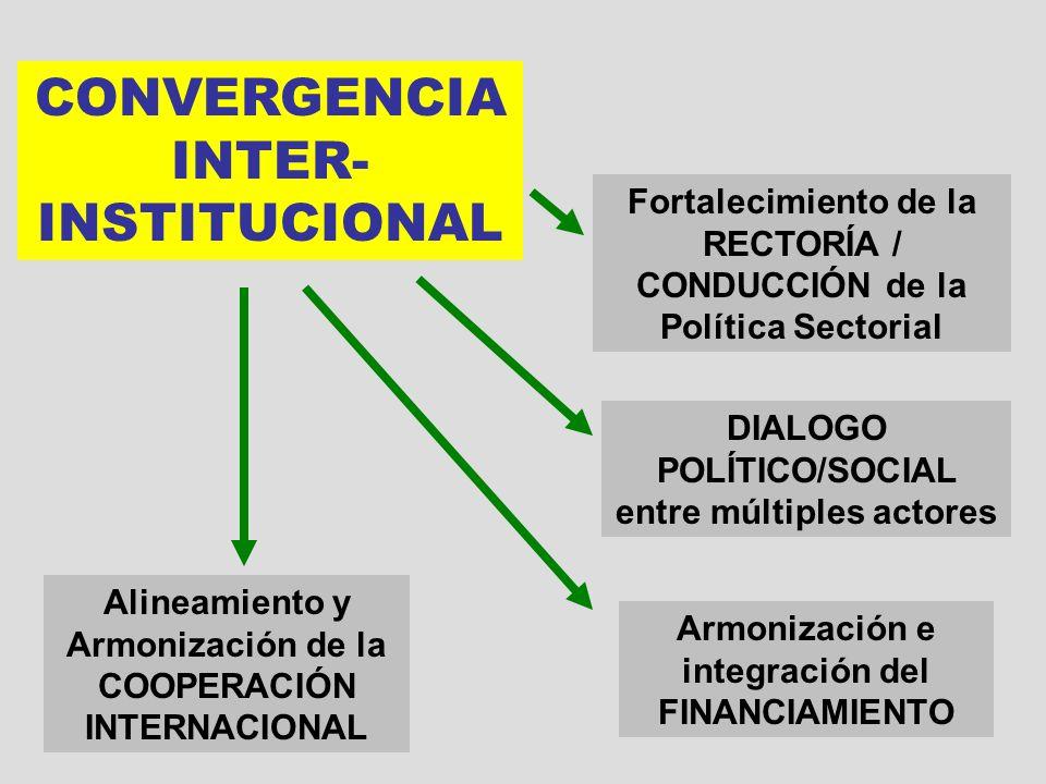 CONVERGENCIA INTER-INSTITUCIONAL