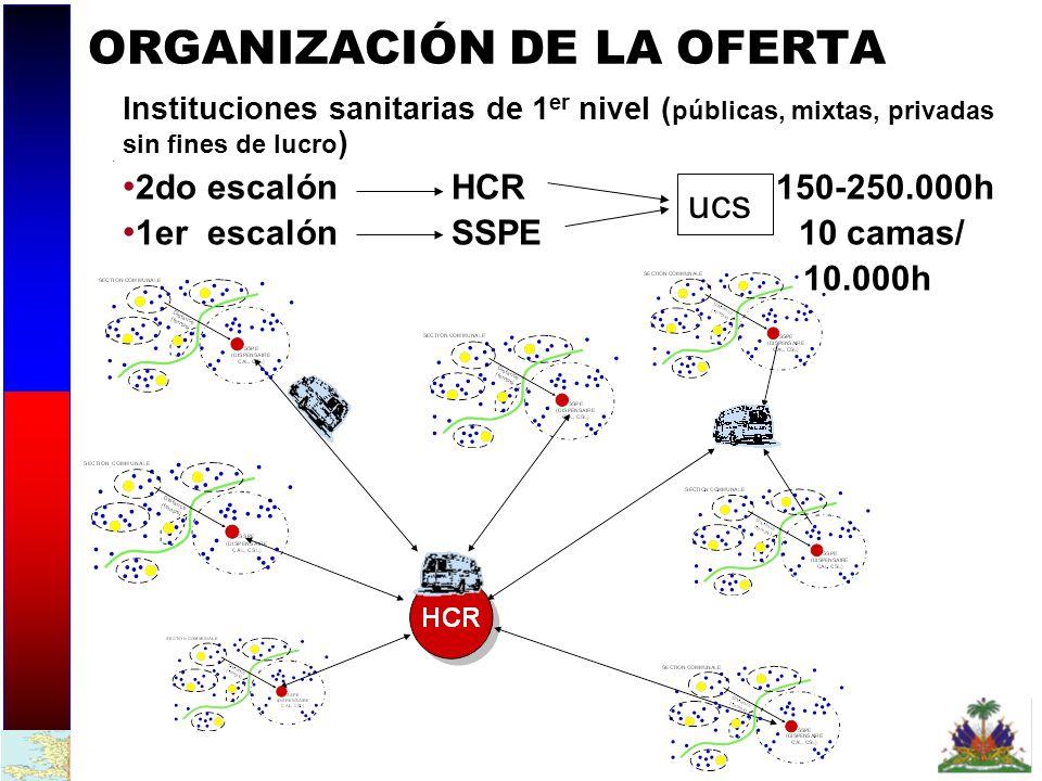 ORGANIZACIÓN DE LA OFERTA