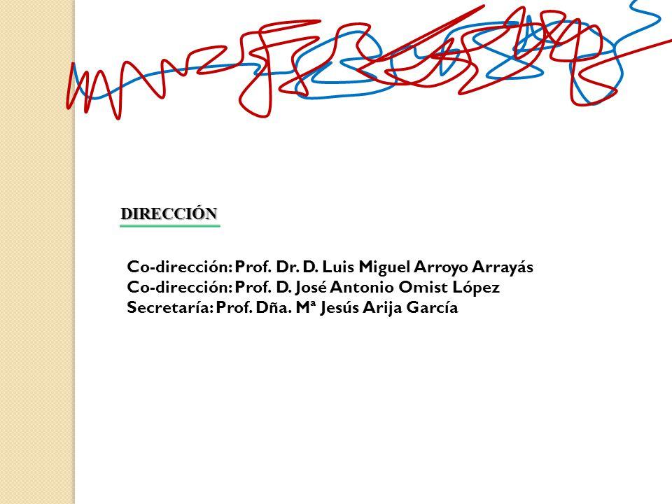 DIRECCIÓN Co-dirección: Prof. Dr. D. Luis Miguel Arroyo Arrayás. Co-dirección: Prof. D. José Antonio Omist López.