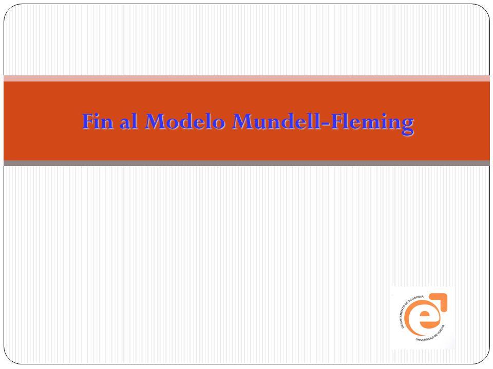 Fin al Modelo Mundell-Fleming
