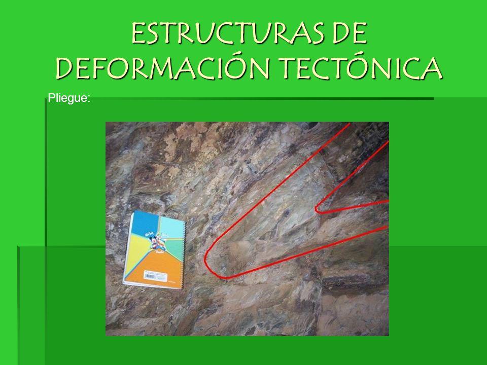 ESTRUCTURAS DE DEFORMACIÓN TECTÓNICA