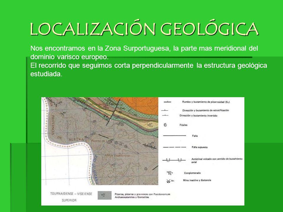 LOCALIZACIÓN GEOLÓGICA