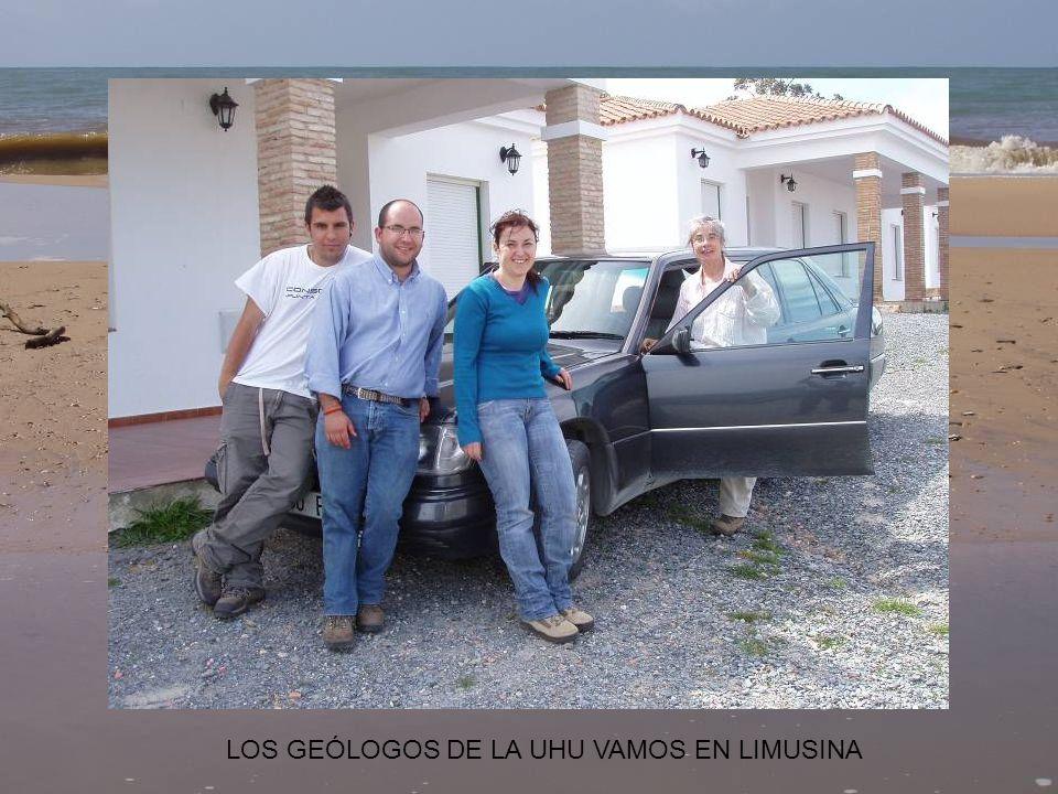 LOS GEÓLOGOS DE LA UHU VAMOS EN LIMUSINA