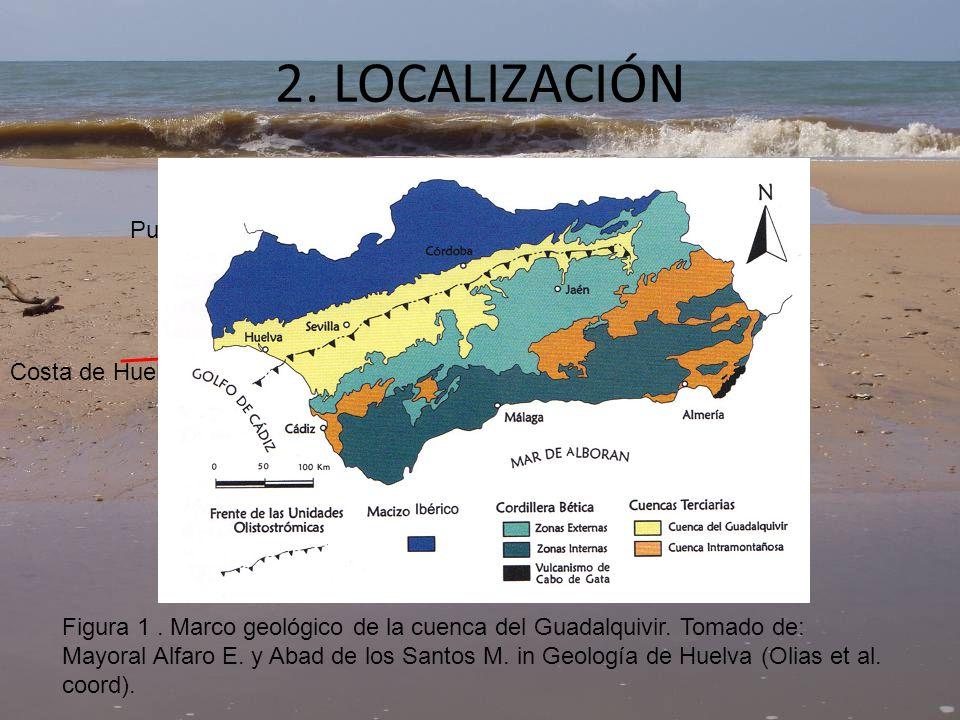 2. LOCALIZACIÓN Puebla de Guzmán Costa de Huelva