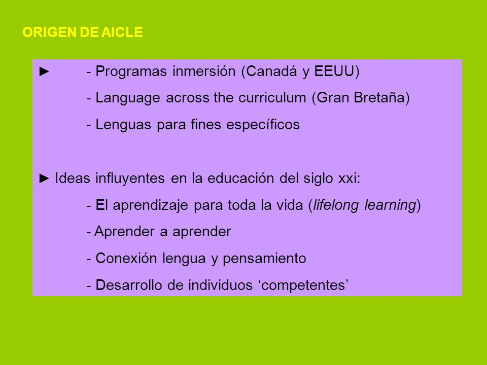 - Language across the curriculum (Gran Bretaña)