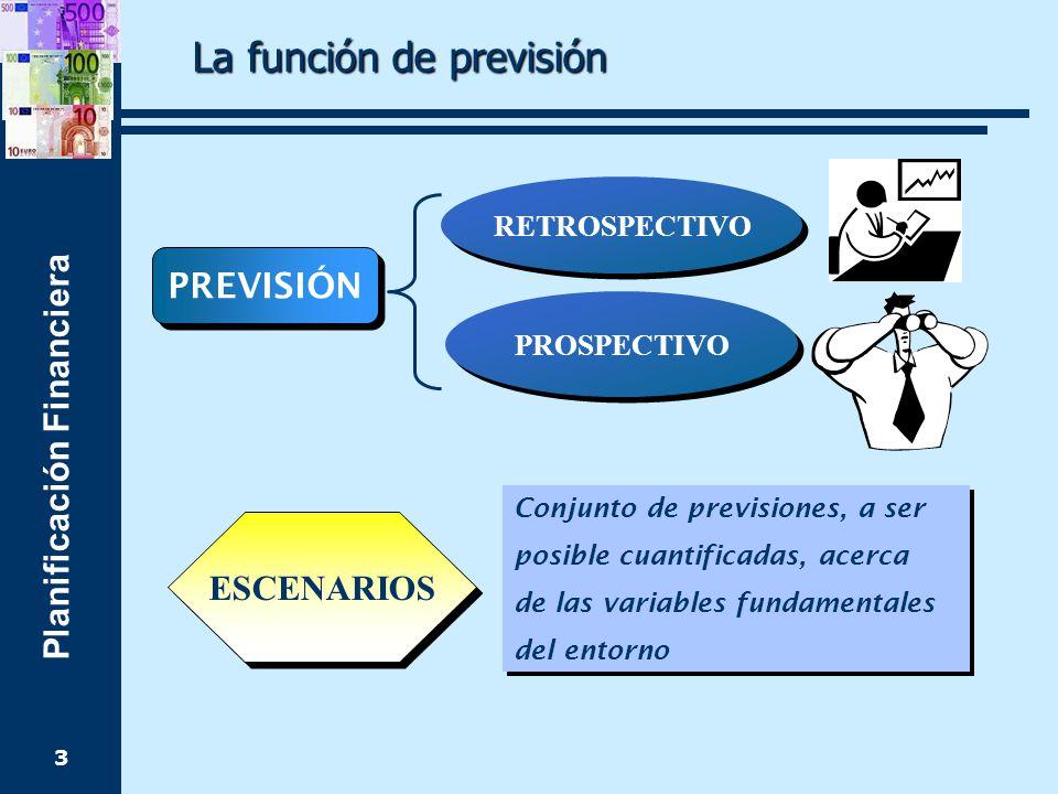 La función de previsión
