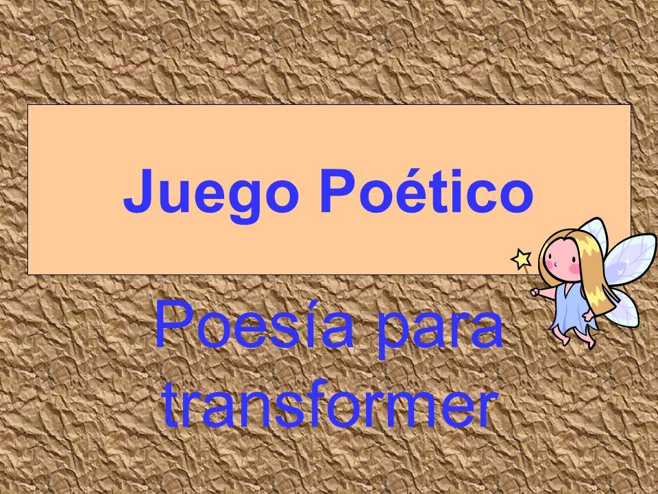Poesía para transformer