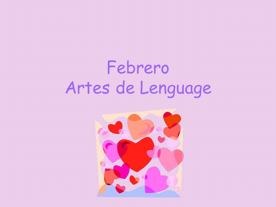 Febrero Artes de Lenguage