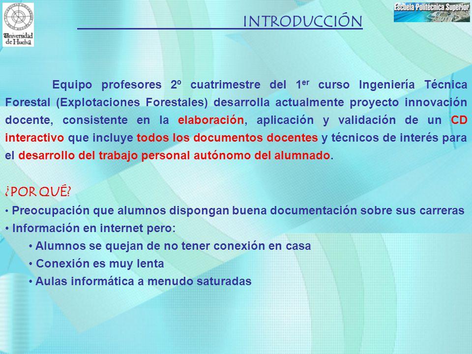 INTRODUCCIÓN ¿POR QUÉ Información en internet pero: