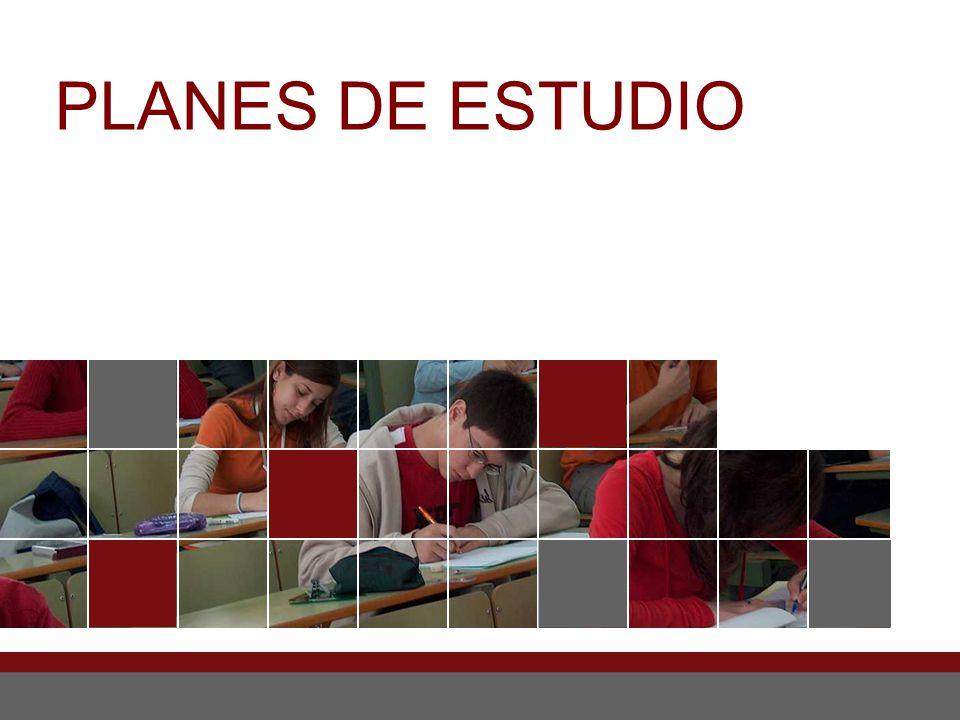 PLANES DE ESTUDIO 40 40 40