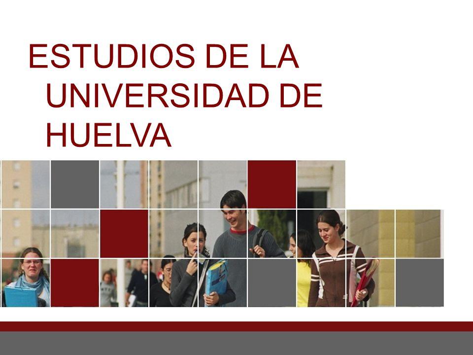 ESTUDIOS DE LA UNIVERSIDAD DE HUELVA