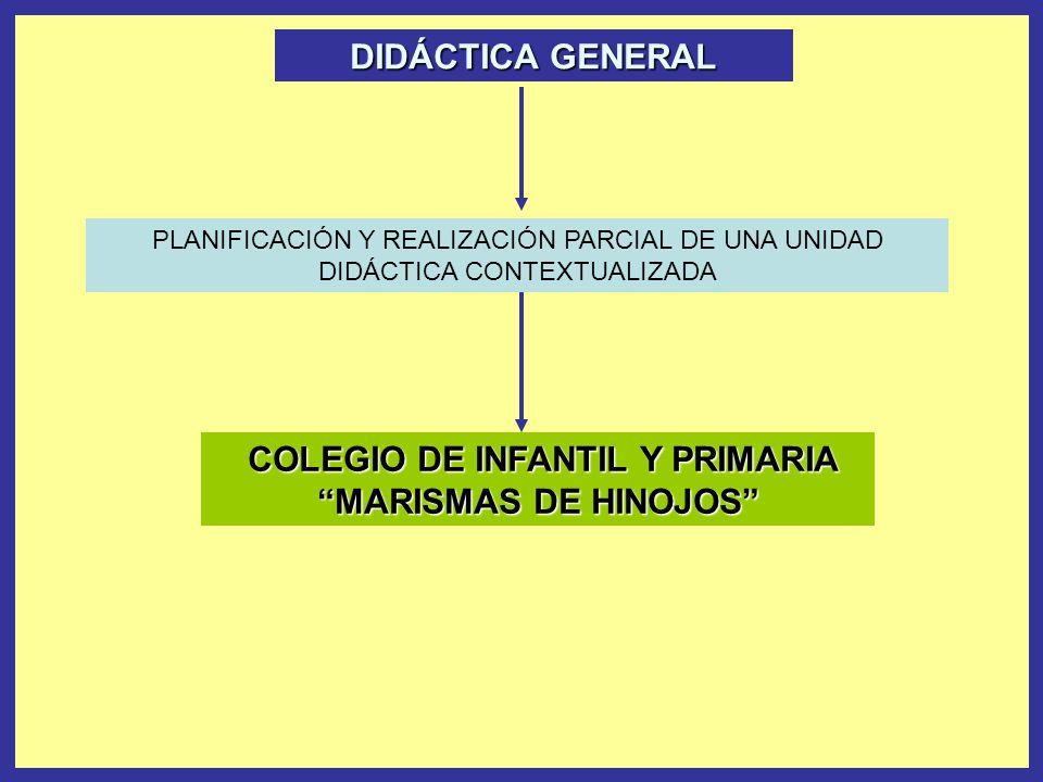 COLEGIO DE INFANTIL Y PRIMARIA MARISMAS DE HINOJOS
