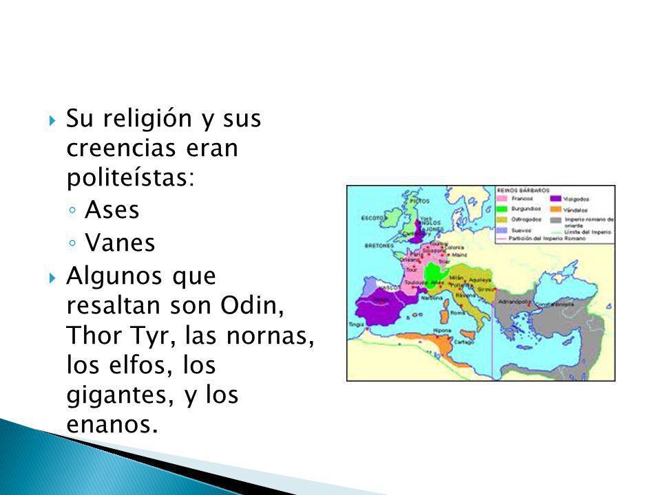 Su religión y sus creencias eran politeístas: