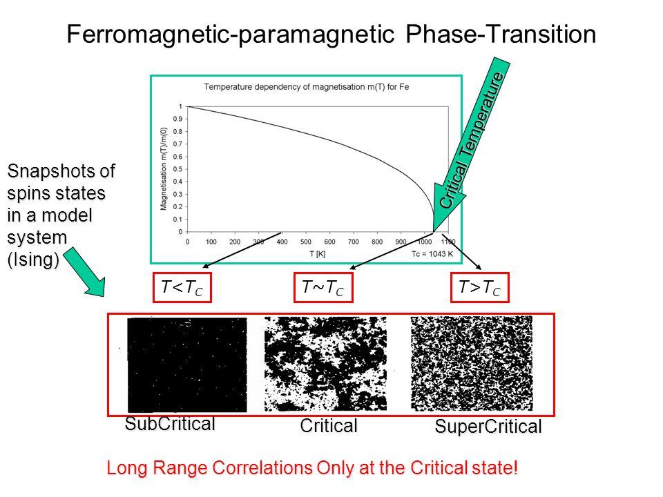 Ferromagnetic-paramagnetic Phase-Transition