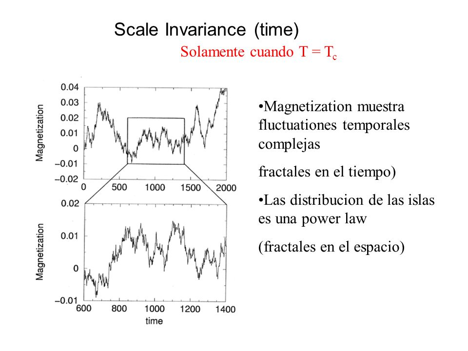 Scale Invariance (time)