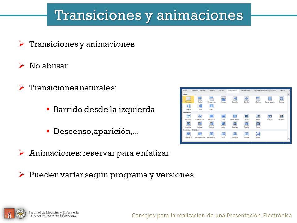 Transiciones y animaciones