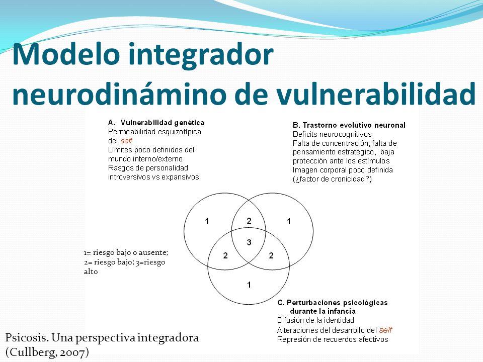 Modelo integrador neurodinámino de vulnerabilidad