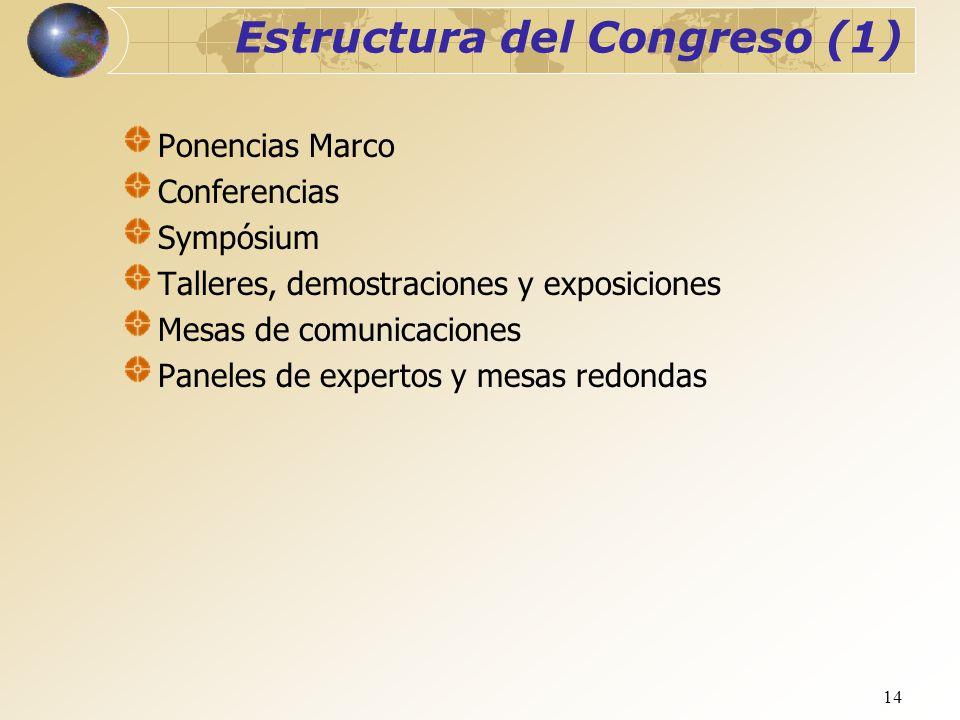 Estructura del Congreso (1)