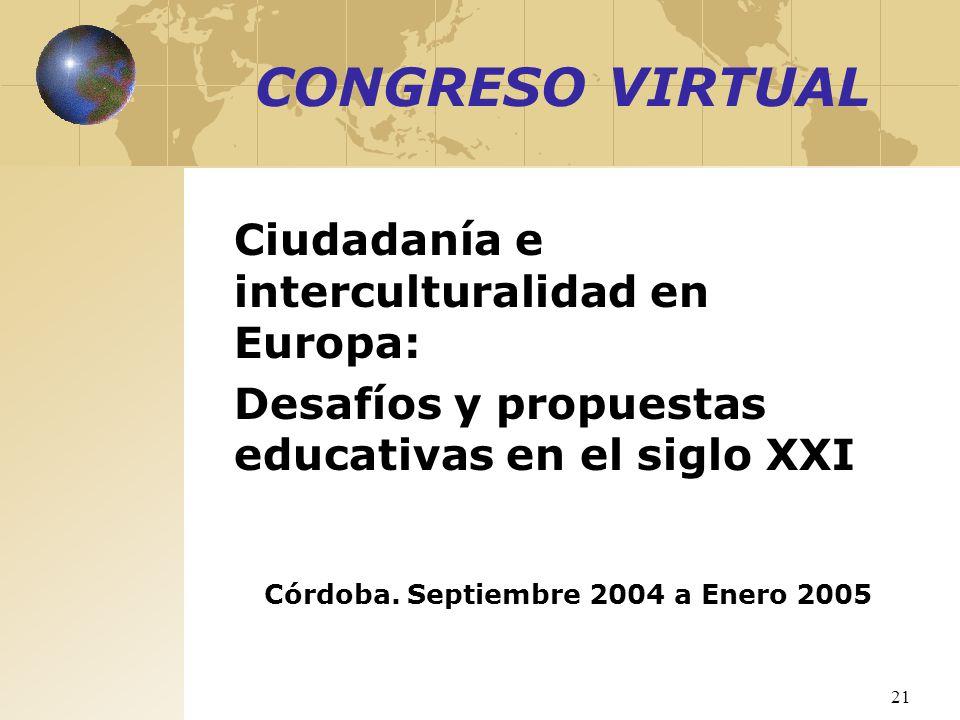 Córdoba. Septiembre 2004 a Enero 2005