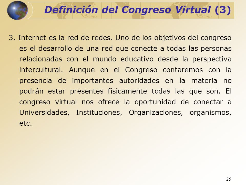 Definición del Congreso Virtual (3)