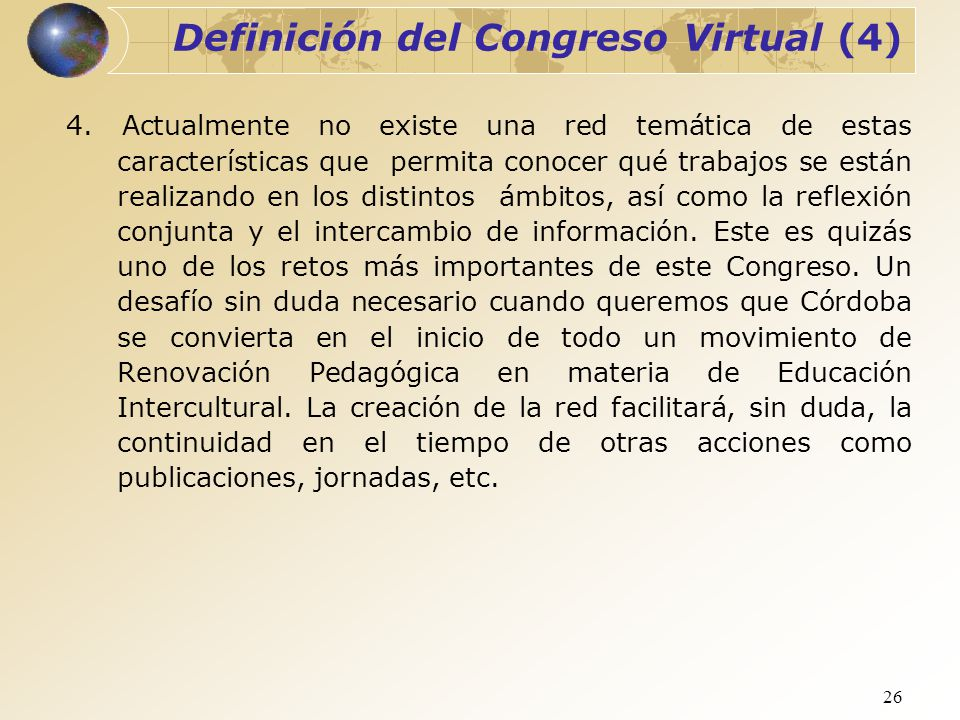 Definición del Congreso Virtual (4)