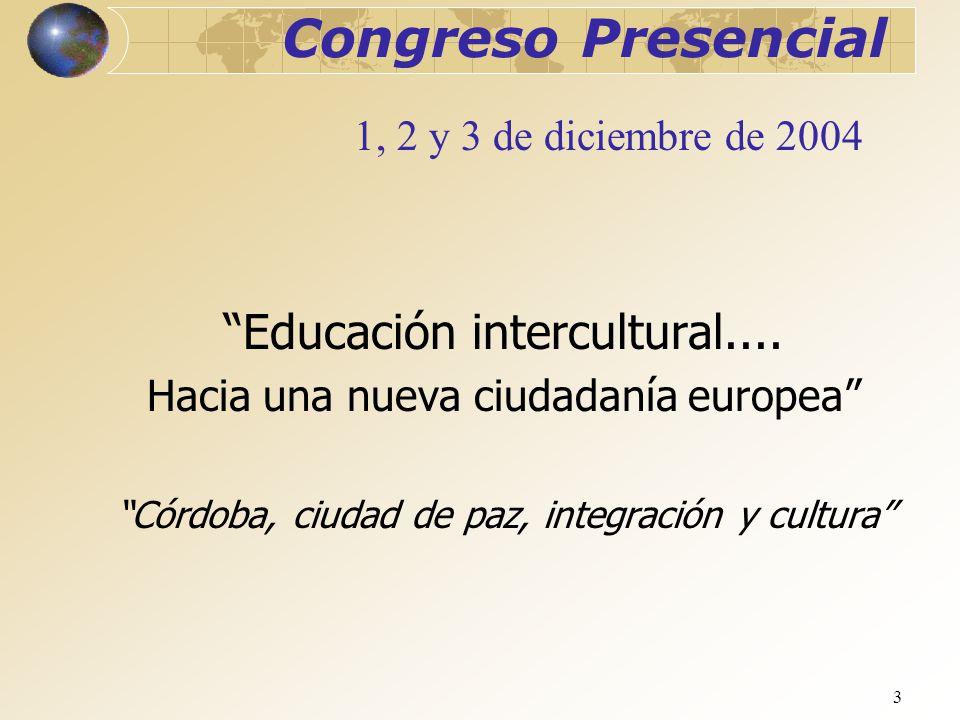 Congreso Presencial Educación intercultural....