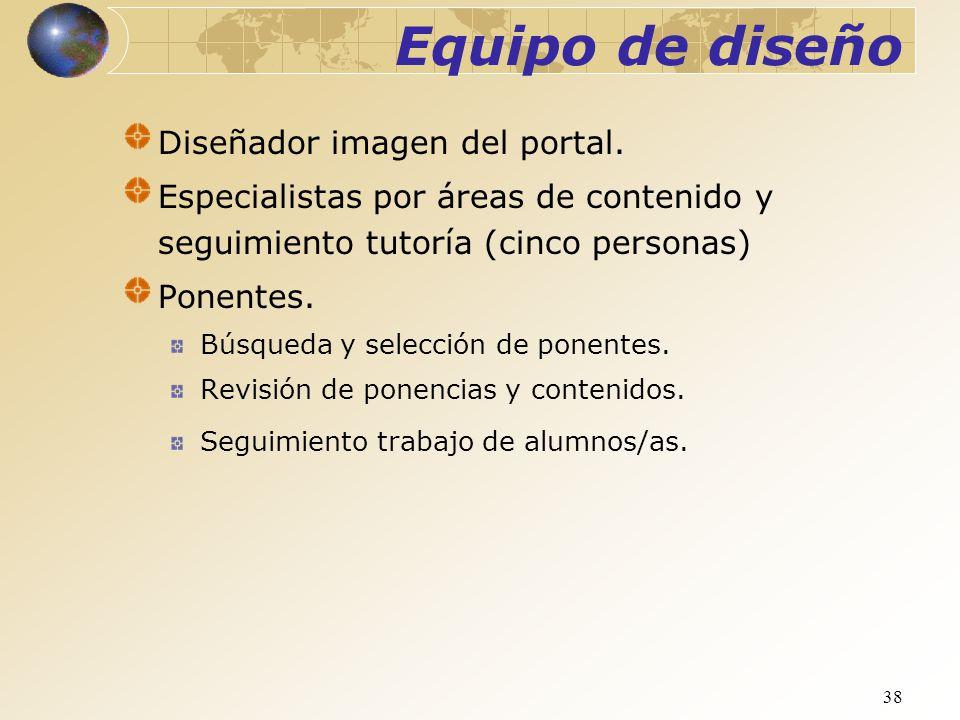 Equipo de diseño Diseñador imagen del portal.