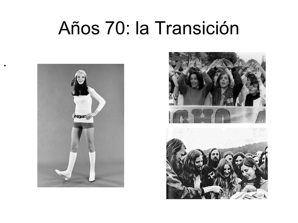 Años 70: la Transición .