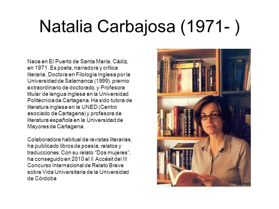 Natalia Carbajosa (1971- )