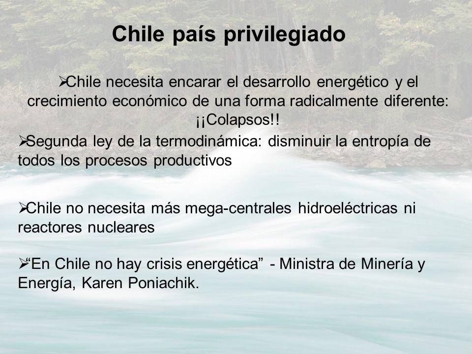 Chile país privilegiado