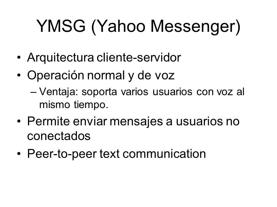 YMSG (Yahoo Messenger)