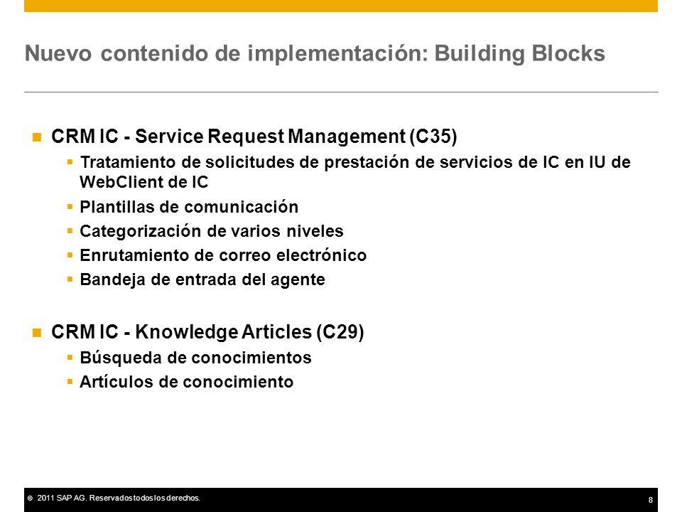 Nuevo contenido de implementación: Building Blocks