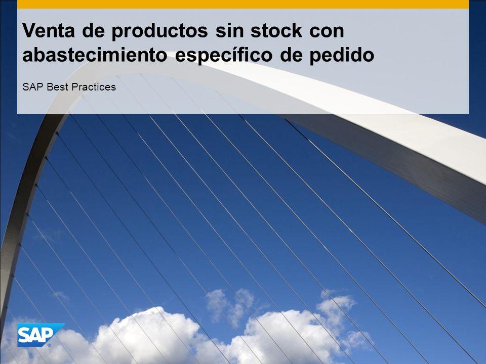 Venta de productos sin stock con abastecimiento específico de pedido