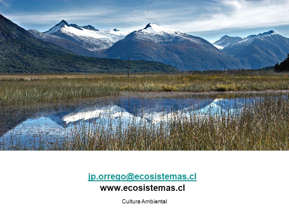 jp.orrego@ecosistemas.cl www.ecosistemas.cl