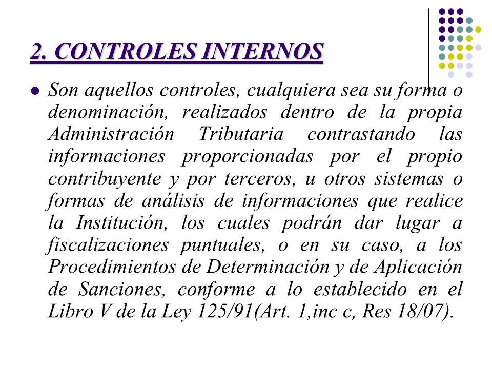 2. CONTROLES INTERNOS