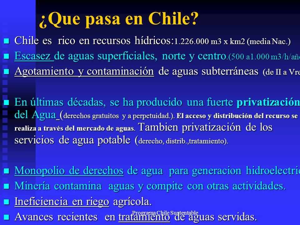 Programa Chile Sustentable