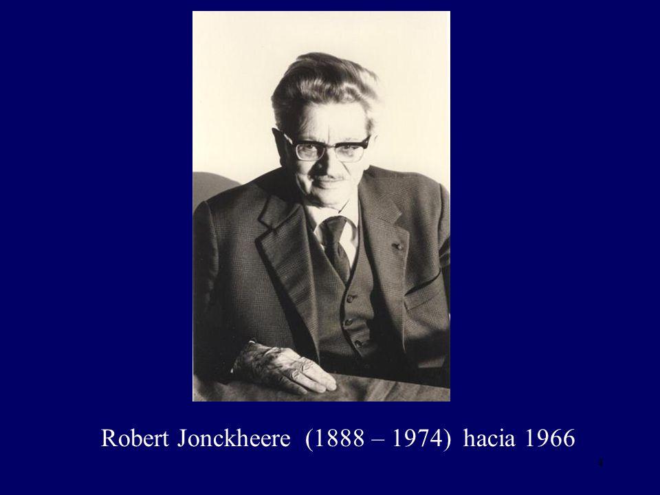 Robert Jonckheere (1888 – 1974) hacia 1966