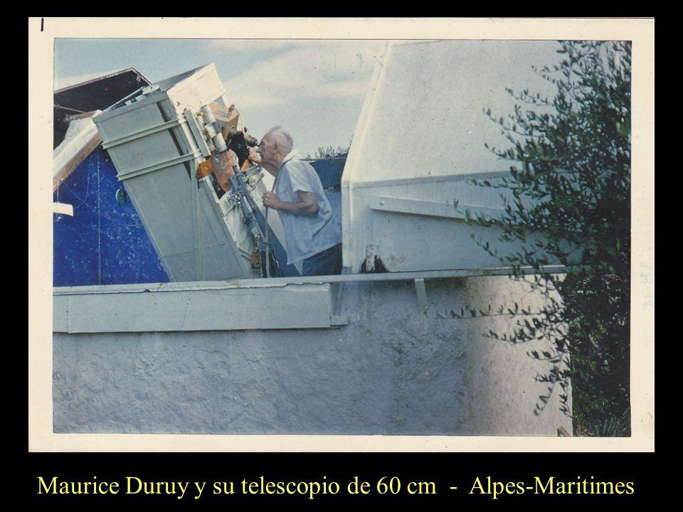 Maurice Duruy y su telescopio de 60 cm - Alpes-Maritimes