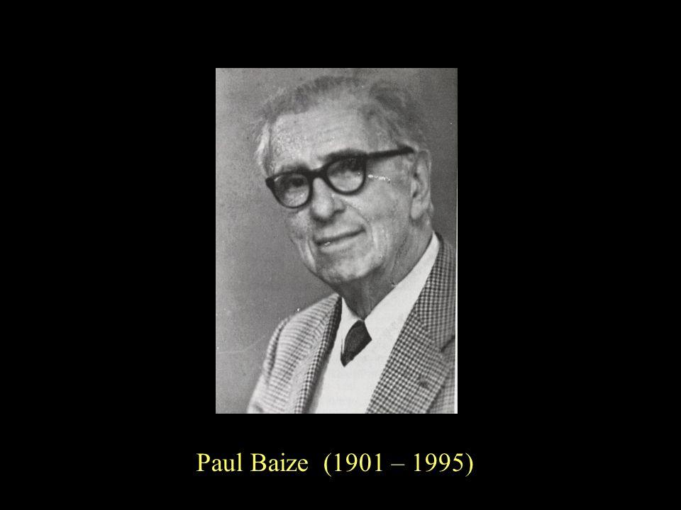 Paul Baize (1901 – 1995)