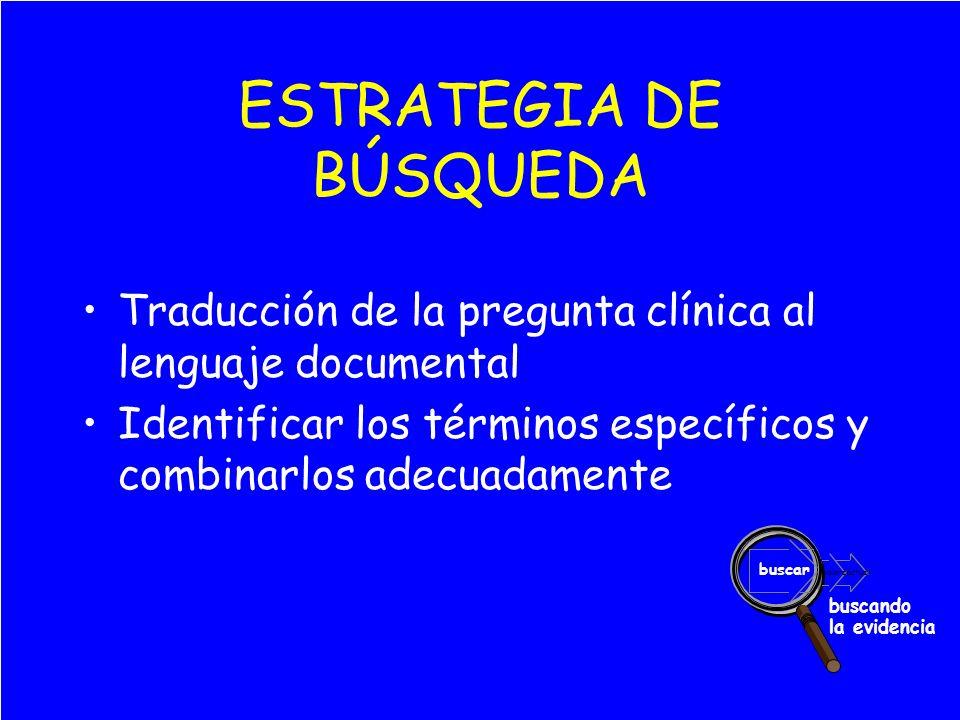 ESTRATEGIA DE BÚSQUEDA